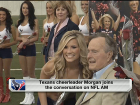 Watch: Houston Texans cheeleader relives Presidential experience