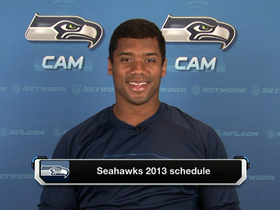 Video - Seattle Seahawks QB Russell Wilson excited to start 2013 schedule