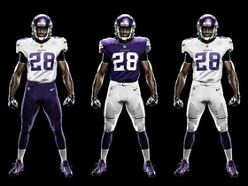 Video - Minnesota Vikings unveil new uniforms