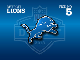 Video - NFL.com Live Mock Draft: Detroit Lions No. 5