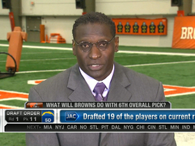 Video - Are the Cleveland Browns looking to trade down?