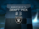 Watch: Mayock Mock Draft: Raiders No. 3