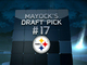 Watch: Mayock Mock Draft:  Steelers No. 17