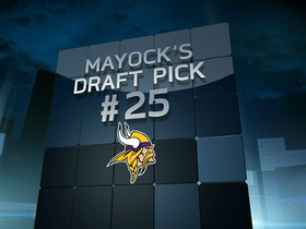 Video - Mayock Mock Draft: Vikings No. 25