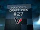 Watch: Mayock Mock Draft: Texans No. 27