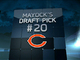 Watch: Mayock Mock Draft:  Bears No. 20