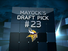 Video - Mayock Mock Draft:  Vikings No. 23