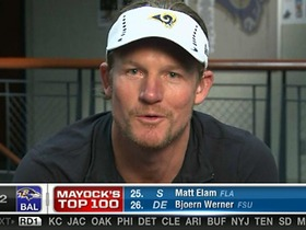 Watch: Rams GM Les Snead on pre-draft moves: Everybody's just flirting
