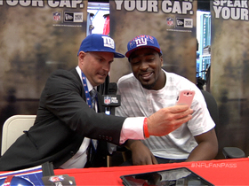 Video - Fan Pass: Meeting New York Giants wide receiver Hakeem Nicks