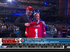 Watch: Chiefs draft Eric Fisher No. 1