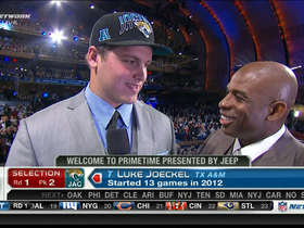 Video - Luke Joeckel reacts to being drafted by Jacksonville Jaguars