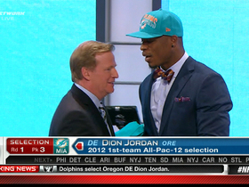 Video - Miami Dolphins draft Dion Jordan No. 3 at the 2013 NFL Draft