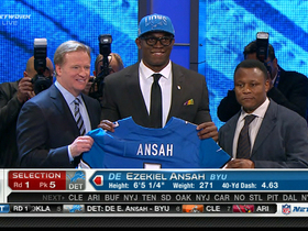 Watch: Lions draft Ezekiel Ansah No. 5