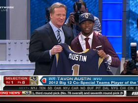 Video - St. Louis Rams draft Tavon Austin No. 8 in the 2013 NFL Draft