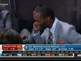 Video - Barkevious Mingo drafted No. 6 overall by Cleveland Browns