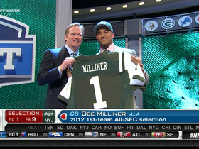 Video - New York Jets draft Dee Milliner No. 9 in the 2013 NFL Draft