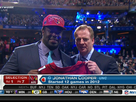 Video - Arizona Cardinals draft Jonathan Cooper No. 7