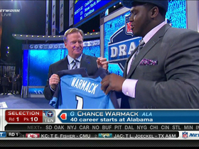 Video - Titans draft Chance Warmack No. 10