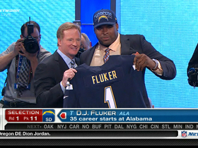 Video - San Diego Chargers draft D.J. Fluker No. 11