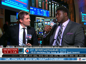 Watch: Chance Warmack 2013 NFL Draft interview