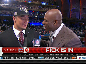 Watch: Vaccaro on being drafted by New Orleans Saints