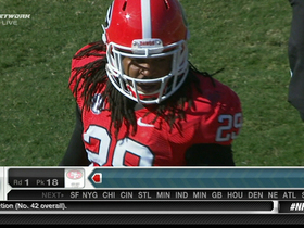 Video - Pittsburgh Steelers select Jarvis Jones in 2013 NFL Draft.