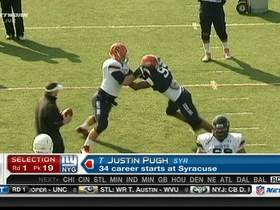 Video - New York Giants take Justin Pugh in 2013 NFL Draft