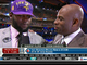 Watch: Floyd reacts to being drafted by Vikings