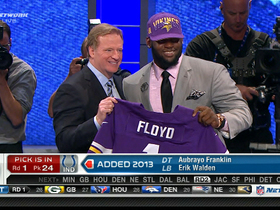 Video - Minnesota Vikings draft Sharrif Floyd No. 23 in the 2013 NFL Draft
