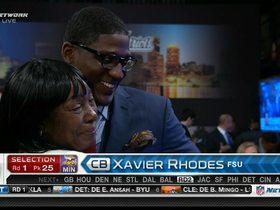 Video - Xavier Rhodes picked No. 25 overall by Minnesota Vikings