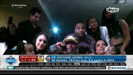 Datone Jones, DE/DL, was Thompson's first round pick in 2013, surprising many. The Seahawks went the free agent route, signing similar-sized DL Michael Bennett from the Titans. He's helped them get to two Super Bowls and earned himself a new contract worthy of his performance.