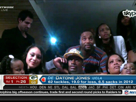 Video - Datone Jones drafted No. 26 overall by Green Bay Packers