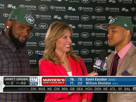 Video - 2013 NFL Draft defensive prospects Sheldon Richardson and Dee Milliner at New York Jets camp