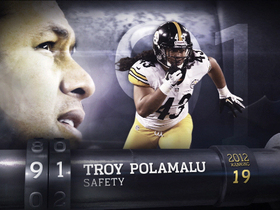 Video - 'Top 100 Players of 2013': Troy Polamalu