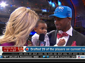 Watch: Slay on being drafted by the Lions