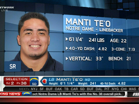 Video - San Diego Chargers draft Manti Te'o No. 38 in 2013 NFL Draft
