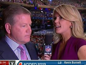 Video - Notre Dame head coach Brian Kelly talks about Manti Te'o going to the San Diego Chargers in the 2013 NFL Draft