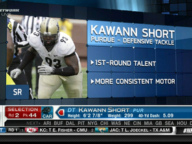 Video - Carolina Panthers draft Kawann Short No. 44 overall in the 2013 NFL Draft
