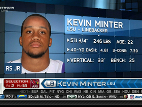 Video - Cardinals draft LB Kevin Minter No. 45 in 2013 NFL Draft