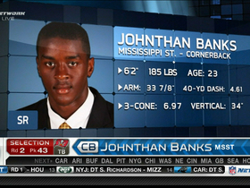 Video - Tampa Bay Buccaneers draft Johnthan banks No. 43 in 2013 NFL Draft