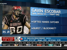 Video - Dallas Cowboys draft Gavin Escobar No. 47 overall in the 2013 NFL Draft