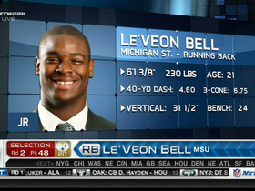 Video - Pittsburgh Steelers draft RB Le'Veon Bell in 2013 NFL Draft