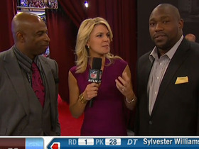 Video - Warren Sapp and Deion Sanders on San Diego Chargers linebacker Manti Te'o and New York Jets quarterback Geno Smith at the 2013 N