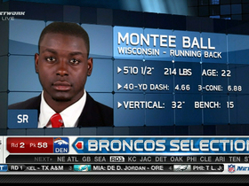 Video - Broncos draft RB Montee Ball No. 58 in 2013 NFL Draft