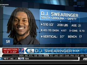 Watch: Texans draft D.J. Swearinger No. 57
