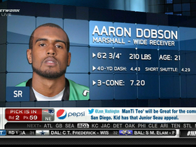 Video - New England Patriots draft WR Aaron Dobson No. 59 in 2013 NFL Draft