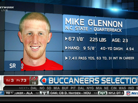 Video - Mike Glennon drafted at No. 73 by Tampa Bay Buccaneers