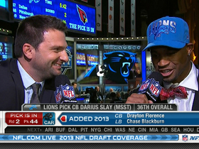 Video - Darius Slay talks about joining Detroit Lions