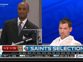 Video - New Orleans Saints draft Terron Armstead No. 75