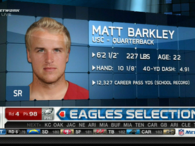Video - Philadelphia Eagles draft Matt Barkley No. 98 in 2013 NFL Draft